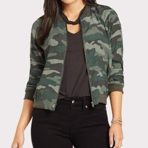 NEW LOOK SUPREME Camouflage Bomber Jacket NWT